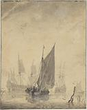 Man-of-War and small Vessels