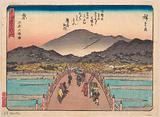 Kyoto: Sanju Ohashi no zu