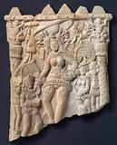 Goddess and Attendants