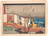 Ishibe, from the series The Fifty-three Stations of the Tōkaidō Road