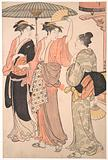 The Fifth Month, from the series Twelve Months in the Southern Pleasure District (Minami jūni kō)