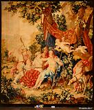 Venus and Adonis from a set of Mythological Subjects after Raphael