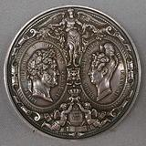 Commemoration of the visit of Louis-Philippe, Queen Marie-Amélie and the Royal children to the Mint
