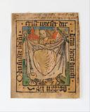 The Sacred Heart on a Cloth Held by an Angel