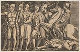 Trajan Fighting the Dacians