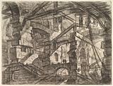 The Gothic Arch, from Carceri d'invenzione (Imaginary Prisons)