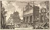 View of the Fountainhead of the Acqua Felice…. , from Vedute di Roma (Roman Views).