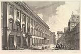 View of the Palazzo Odeschali, from Vedute di Roma (Roman Views)