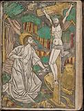 Album with Twelve Engravings of The Passion, a Woodcut of Christ as the Man of Sorrows, and a Metalcut of St Jerome in …
