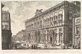 View of the Palazzo della Consulta on the Quirinal housing the Papal Secreteriat, from Vedute di Roma (Roman Views)