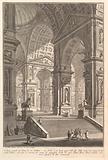 Large sculpture gallery built on arches and lit from above … (Galleria grande di Statue, la cui struttura è con Archi …)