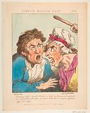 Le Brun Travested, or Caricatures of the Passions