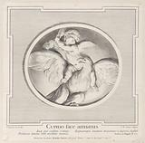 Cupid Astride an Eagle