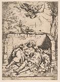 Death of St Peter and St Paul (Saint Pierre et Saint Paul dans le tombeau)