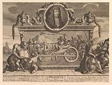 Frontispiece and Its Explanation: Twelve Large Illustrations for Samuel Butler's Hudibras