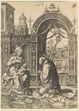 St Bernard Adoring the Christ Child