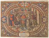 Marriage of Samson and the Philistine, from the Story of Samson