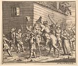 Hudibras and Ralpho Made Prisoners and Carried to the Stocks