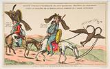 Rentrée joyeuse et triomphale des Don-Quichottes Prussiens en Allemagne, après la conquête de la France, sous conduite …