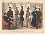Le Progrès, for the Bulletin of Fashion, New York, No 110, from Modes de Paris