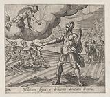 The Warring Men Born of the Serpent's Teeth (Militum Seges e draconis dentium seminio), from Ovid's 'Metamorphoses'