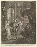 King Henry the Eighth and Anna Bullen