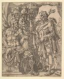 Achior Pleading with Holofernes for the Israelites, from The Story of Judith and Holofernes