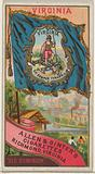 Virginia, from Flags of the States and Territories for Allen & Ginter Cigarettes Brands