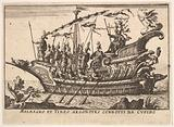 Argonauts Meleager and Tydeus led by Cupid (Meleagro et Tideo Argonotes condotti da Cupido), from the series 'The …