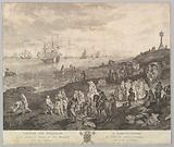 Selling Fish at Scheveningen (Vente de Poisson a Schevelinghe [sic]) after the painting in the collection of the Comte …