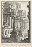 'Ancient mausoleum erected for the ashes of a Roman emperor' (Mausoleo antico eretto per le ceneri d'un imperadore …)