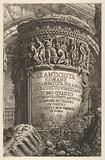 Title page: volume IV, 'The Antiquities of Rome by Giambatista Piranesi, Venetian Architect