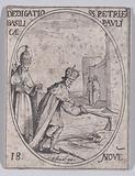 Dédicace des Basiliques S Pierre et S Paul (Dedication of Basilicas St Peter and St Paul), November 18th, from Les …