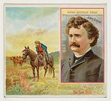 John Arkins, Denver Rocky Mountain News, from the American Editors series for Allen & Ginter Cigarettes