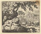 Renard Continues with His Lies from Hendrick van Alcmar's Renard The Fox