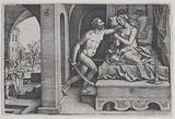 Tarquinius Rapes Lucretia, from Scenes from Roman History