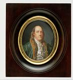 Benjamin Franklin, after a Painting by Greuze of 1777