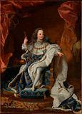 Louis XV  as a Child