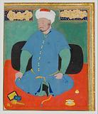 Portrait of Muhammad Khan Shaibani, the Uzbek