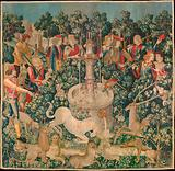 The Unicorn Purifies Water (from the Unicorn Tapestries)