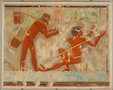 Men Splitting Papyrus