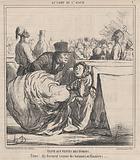 Visite aux Tentes des Turcos…. , from Au Camp de Saint-Maur, published in Le Charivari, August 13, 1859.