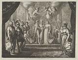 "The Marriage of Henry IV and Marie de Medici, from Caspar Barlaeus, ""Medicea Hospes"""