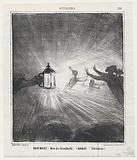 November, month of fog (Matthieu de Laensberg), from 'News of the day,' published in Le Charivari, November 14, 1867