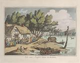 """View near Newport, Isle of Wight, from """"Sketches from Nature"""""""
