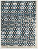 Sheet with overall diamond pattern
