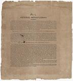 Broadside about making spirits with charcoal and recipes for making cordials, Printed item