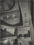 Fifth Avenue Theater interior, showing orchestra, boxes, first and second balconies, 1185 Broadway, Manhattan