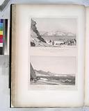 Vue de l'Isle de Graie [Pharaoh's Island], prise de l'ouest (presqu'isle de Sinai)