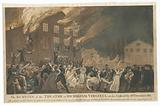 The burning of the theatre in Richmond, Virginia, on the night of the 26th December 1811